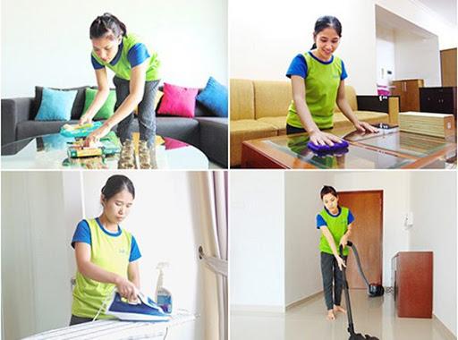 Tiến hành vệ sinh nhà sau xây dựng