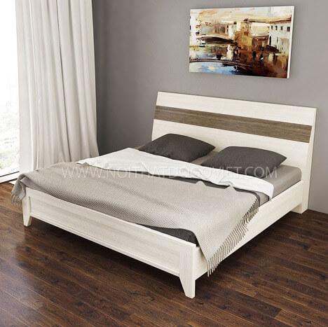 Mẫu giường chân thấp trẻ trung và mới lạ