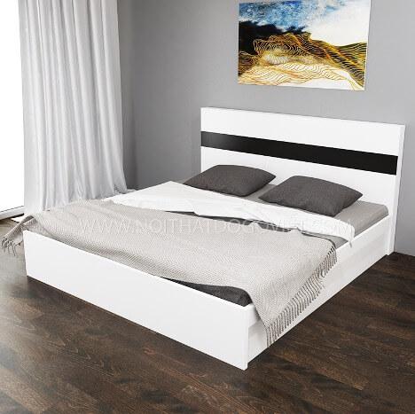 Mẫu giường ngủ gỗ công nghiệp thiết kế tối giản