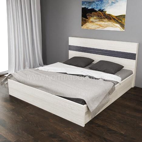 Thiết kế giường khối hộp thanh lịch