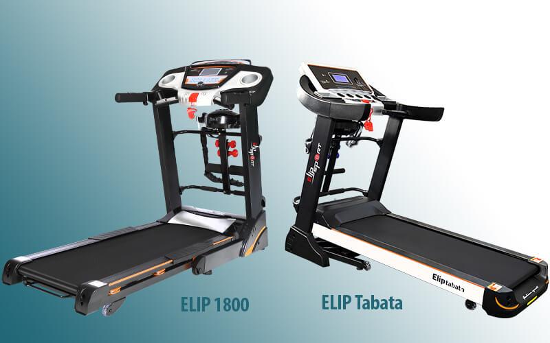 ELIP 1800 hay ELIP Tabata là 2 mẫu máy chạy bộ đa năng có nhiều nét tương đồng