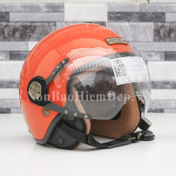 Bulldog Pom – mũ bảo hiểm phượt cho nữ