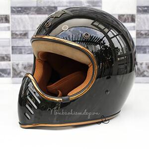 Royal H01- mũ bảo hiểm phượt classic
