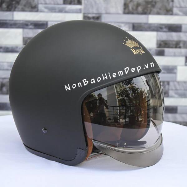 Royal m139– mũ phượt kính âm