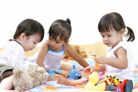 Trẻ thể hiện trí tưởng tượng phong phú