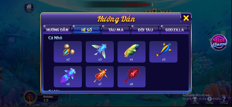 Mẹo chơi bắn cá Godzilla RikVIP dễ thắng bạn nên quan tâm
