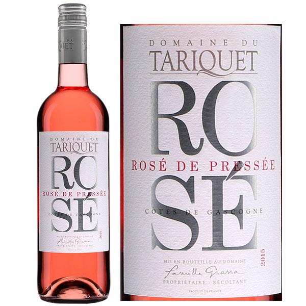 Rượu vang hồng Domaine du Tariquet Rose' de Presse'