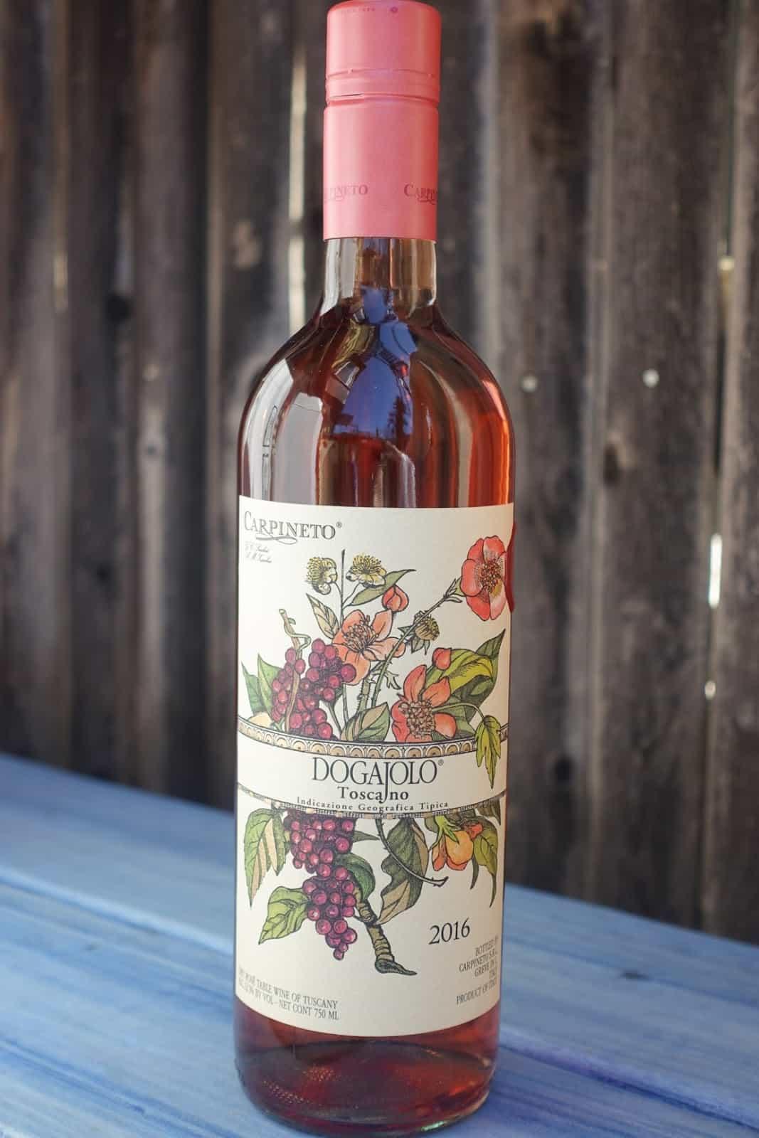 Rượu vang hồng Carpineto Dogajolo