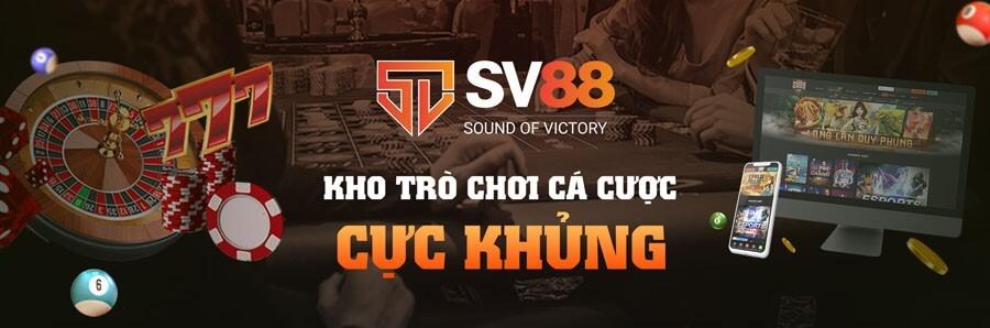 Nhà cài SV88 - sở hữu một lượng kho game khổng lồ luôn thu hút các cao thủ tham gia