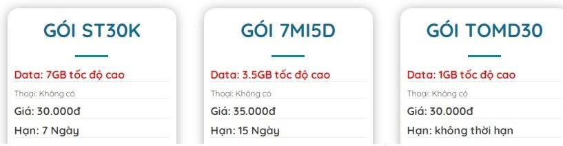 Tham khảo thêm các gói cước 4G Viettel ngày