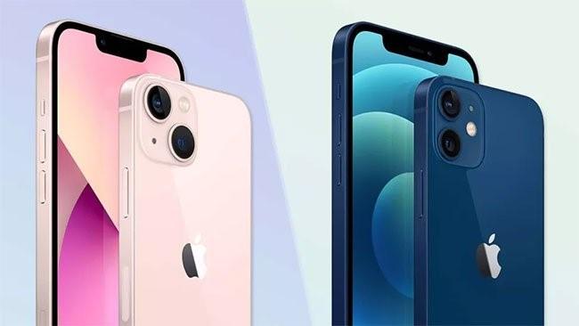 Sự khác biệt trên cụm camera iPhone 13 và iPhone 12