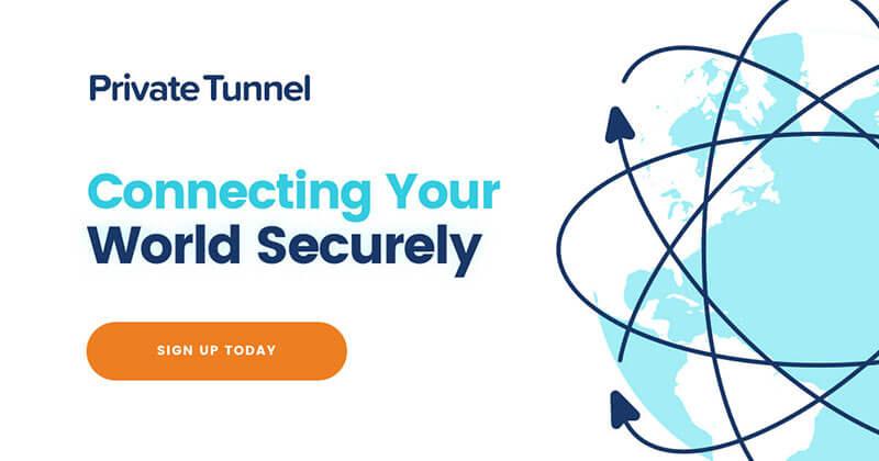 Phần mềm VPN miễn phí PrivateTunnel