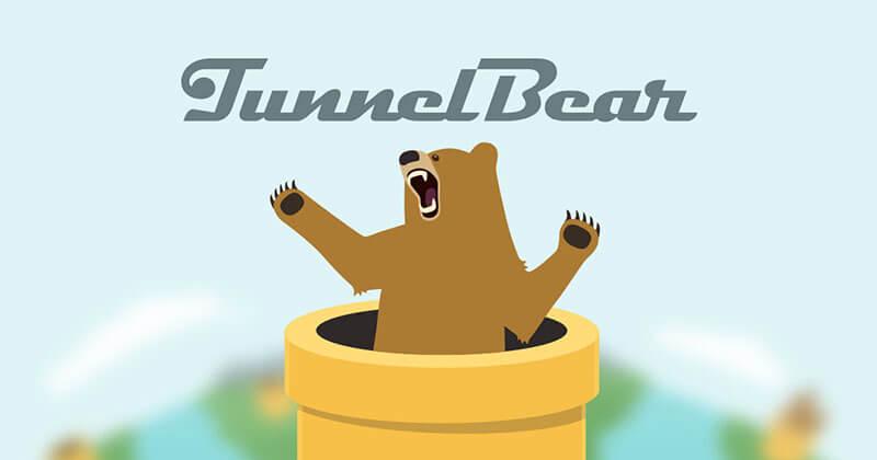 Tunnelbear - Phần mềm miễn phí hiệu quả